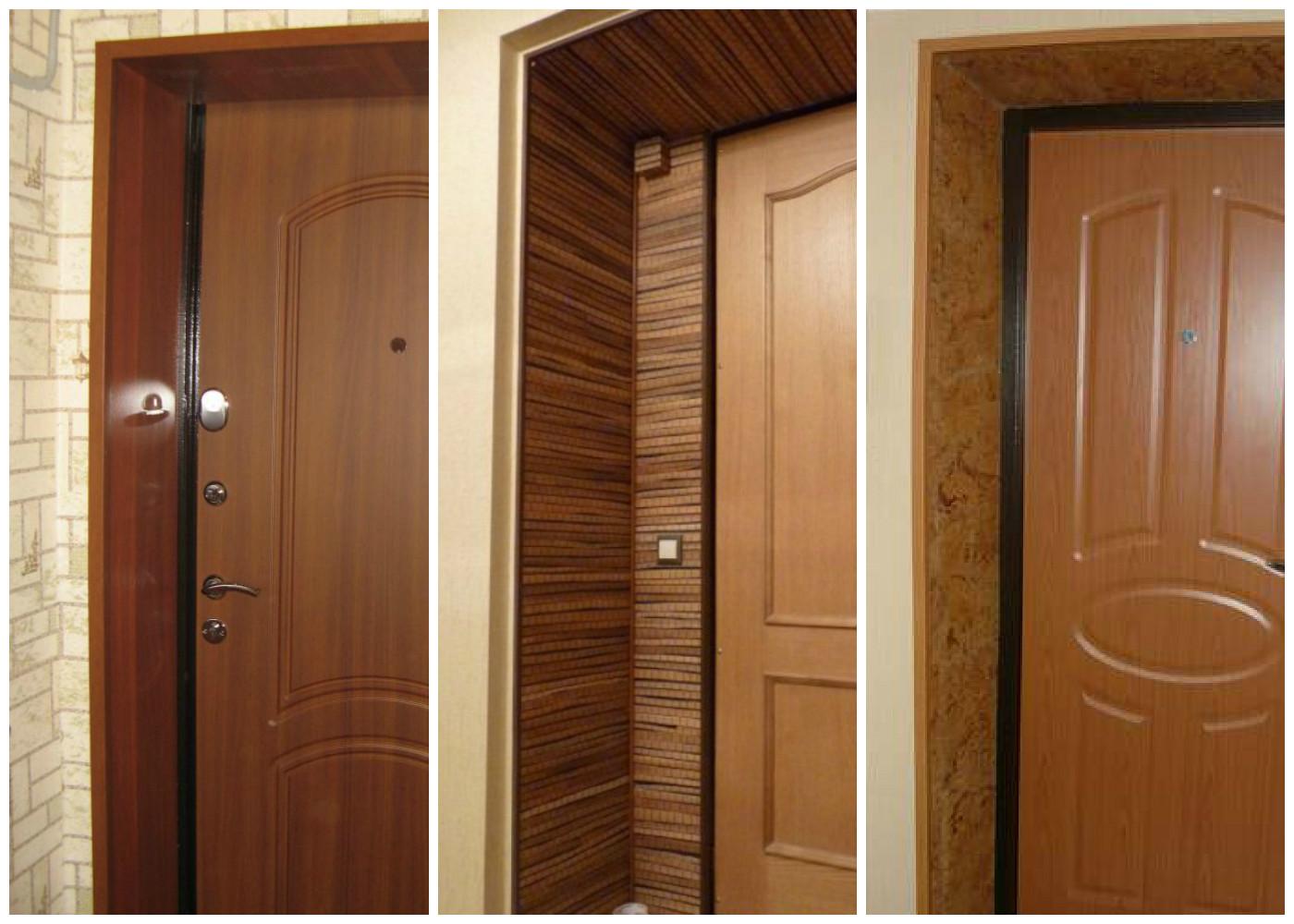 Особенности дверных откосов