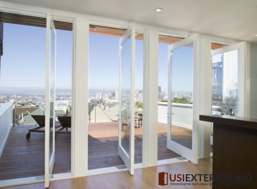 Раздвижные балконные двери : фото обзор стеклянных дверей.